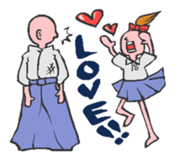 Aikido LOVE love sticker #2170942