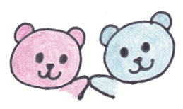 pink bear Ai sticker #2170981