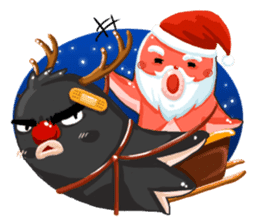 Taku Christmas Fun sticker #2171487