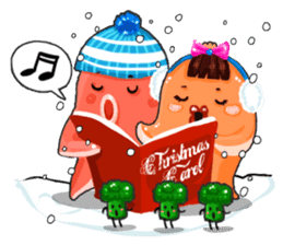 Taku Christmas Fun sticker #2171492