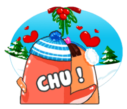 Taku Christmas Fun sticker #2171494