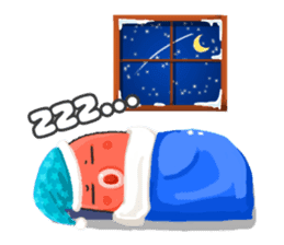 Taku Christmas Fun sticker #2171496
