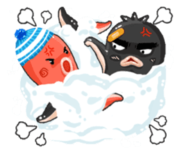 Taku Christmas Fun sticker #2171499