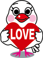 Java sparrow Bunsuka sticker #2171817