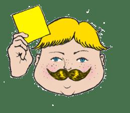 Mustache boy -normal ver. sticker #2174080