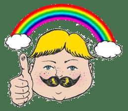 Mustache boy -normal ver. sticker #2174085