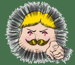 Mustache boy -normal ver. sticker #2174086