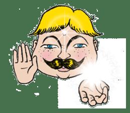 Mustache boy -normal ver. sticker #2174094