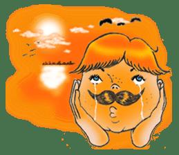 Mustache boy -normal ver. sticker #2174099