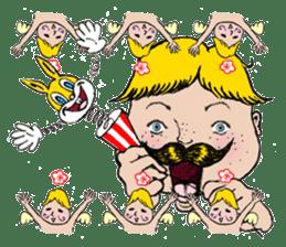 Mustache boy -normal ver. sticker #2174104