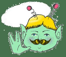 Mustache boy -normal ver. sticker #2174105