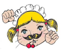 Mustache boy -normal ver. sticker #2174108