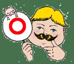 Mustache boy -normal ver. sticker #2174114