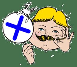 Mustache boy -normal ver. sticker #2174115