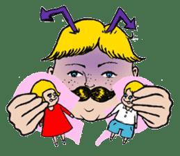 Mustache boy -normal ver. sticker #2174119