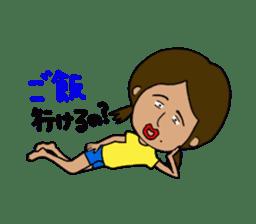 Japanese annoying girl TAKAKO(21) vol.1 sticker #2180074