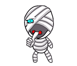 mummy girl  (Only illustration ) sticker #2183437
