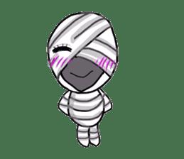 mummy girl  (Only illustration ) sticker #2183442