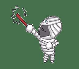 mummy girl  (Only illustration ) sticker #2183451
