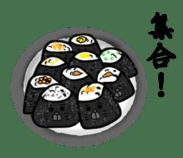 Rice balls sticker #2184129