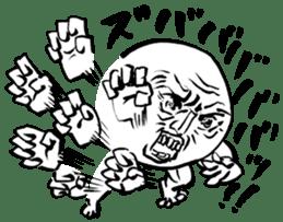 Guys fight sticker #2184564