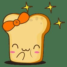 Mr and Mrs Toastee , cute toast sticker sticker #2184661