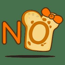 Mr and Mrs Toastee , cute toast sticker sticker #2184667