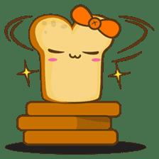 Mr and Mrs Toastee , cute toast sticker sticker #2184685