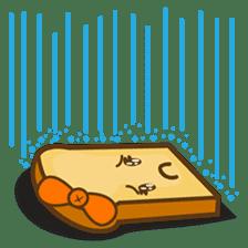 Mr and Mrs Toastee , cute toast sticker sticker #2184690