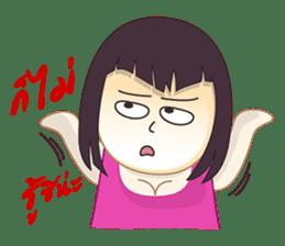 Cut Fat Girl sticker #2185301