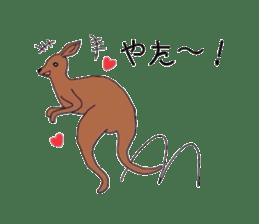 Animals cute sticker #2185916