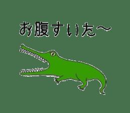 Animals cute sticker #2185922