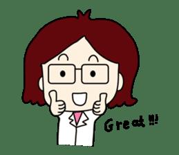 Doctor N(English) sticker #2186510