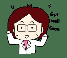 Doctor N(English) sticker #2186529