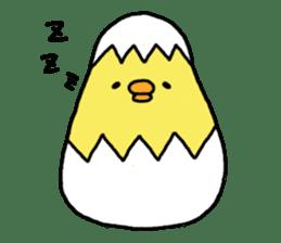 Weakness chick sticker sticker #2187547