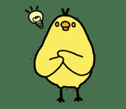 Weakness chick sticker sticker #2187561