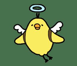 Weakness chick sticker sticker #2187577