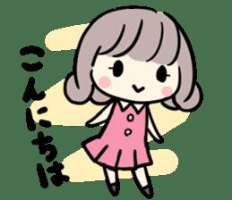 Kawaii Business Girl sticker #2189145