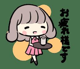 Kawaii Business Girl sticker #2189148