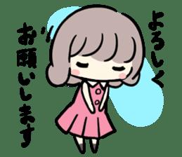 Kawaii Business Girl sticker #2189149