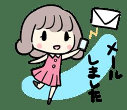 Kawaii Business Girl sticker #2189151