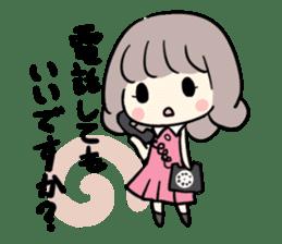 Kawaii Business Girl sticker #2189152