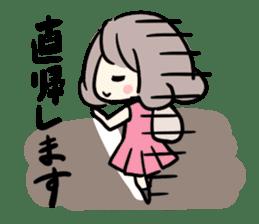 Kawaii Business Girl sticker #2189157