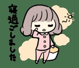Kawaii Business Girl sticker #2189158
