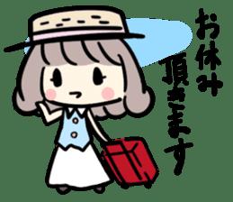 Kawaii Business Girl sticker #2189159