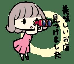 Kawaii Business Girl sticker #2189166