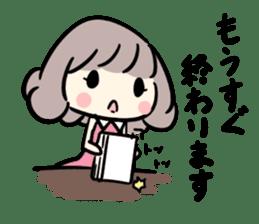 Kawaii Business Girl sticker #2189167