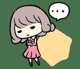 Kawaii Business Girl sticker #2189169