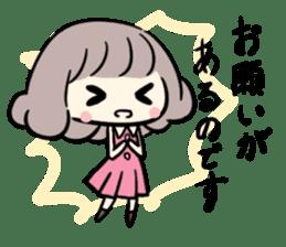 Kawaii Business Girl sticker #2189177