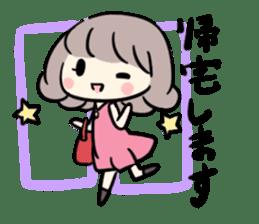 Kawaii Business Girl sticker #2189183